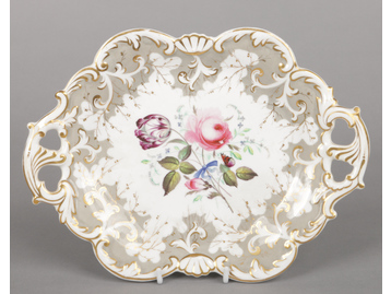A Rockingham Neo-Rococo twin handled ...