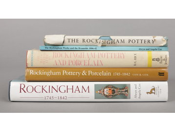Five Rockingham reference books. Alwy...