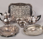 A collection of silver plate to inclu...