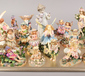 A tray of mostly ornamental fairies t...