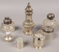 A group lot of hallmarked silver incl...