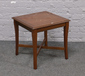 A G plan mahogany occasional table....