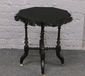 A Victorian ebonised gypsy table rais...
