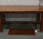 A pine extending dining table with ex...