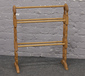 A beech towel rail....