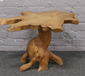 A naturalistic coffee table....