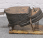 An early 20th century foot bellows wi...