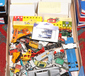 A box of Diecast vehicles to include ...