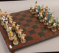 A Fantasy themed chess set and board....