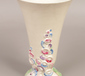 A Clarice Cliff vase with hand painte...