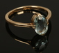 A mid 20th century 18ct gold and aqua...