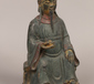 A Chinese cold painted bronze figure ...