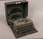 A cased Imperial typewriter....