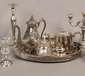 A quantity of silver plate including ...