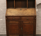 A Georgian oak clerks desk, 94cm W x ...
