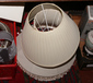 Two boxes of table lamps and lamp sha...