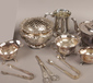 A group lot of silver plate to includ...