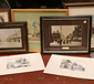 A quantity of mostly framed prints an...