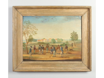 C. Lees (British 19th century) framed oi