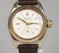 A ladies 9 carat gold cased Rolex Oyster