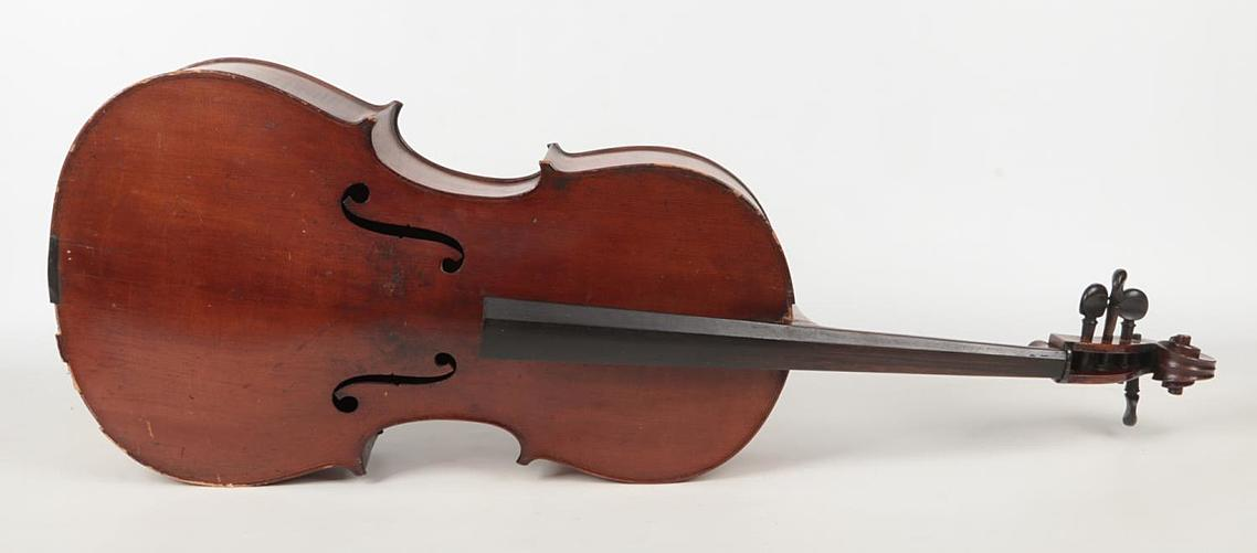 A cello, probably 19th century. Spurious