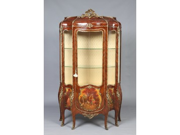 A French Kingwood vitrine.