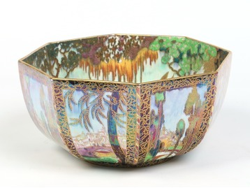 A Wedgwood fairyland lustre bowl.