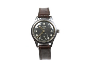 Grana W.W.W. stainless steel wristwatch.
