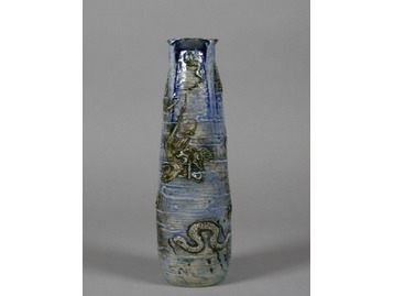 A Martin Brothers stoneware vase.