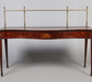A George III mahogany serving table of s