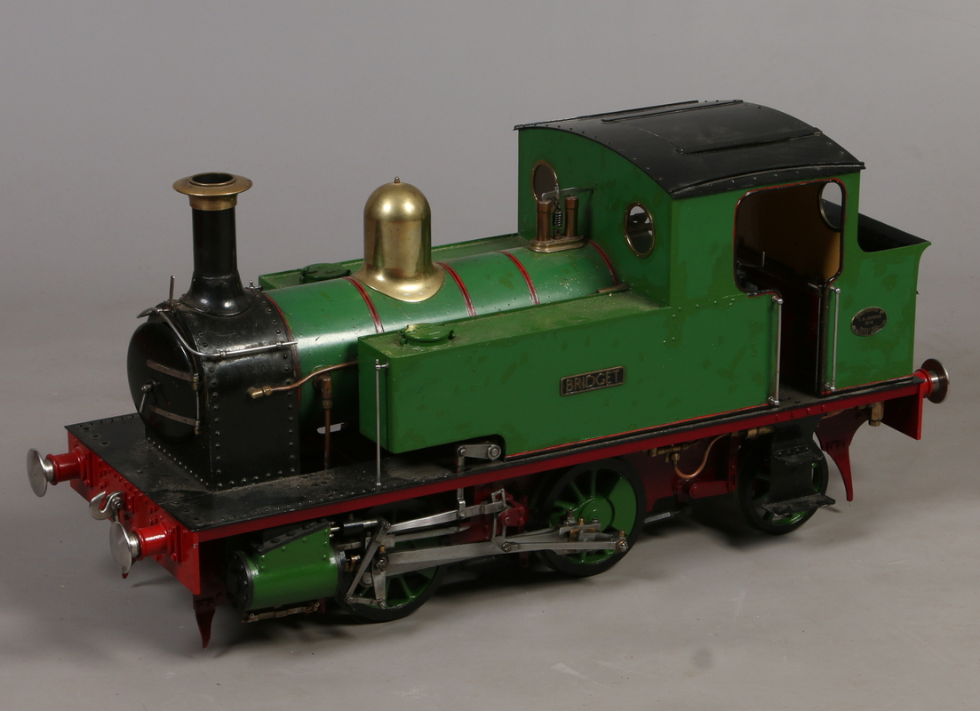 "A 7"" gauge live steam 0-4-2 tank engine"