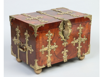 An 18th century Flemish oyster veneered