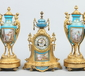 A 19th century French assembled ormolu c