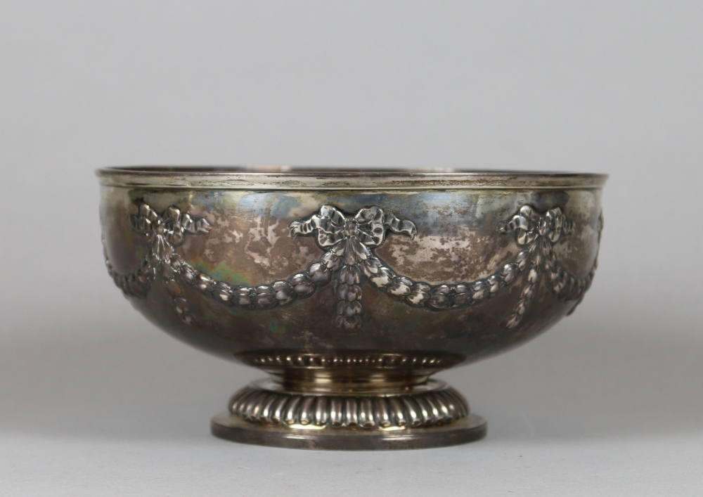 A George III silver bowl by Paul Storr.