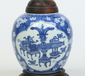 An 18th century Chinese ginger jar with