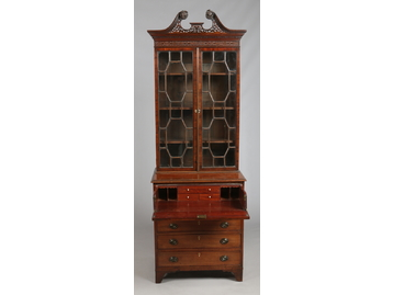 An early 19th century Chippendale style