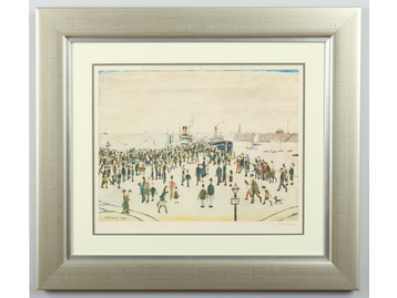 Laurence Stephen Lowry R. A. (1887-1976)