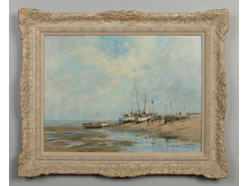 Gordon Radford (1936-2015). A framed oil