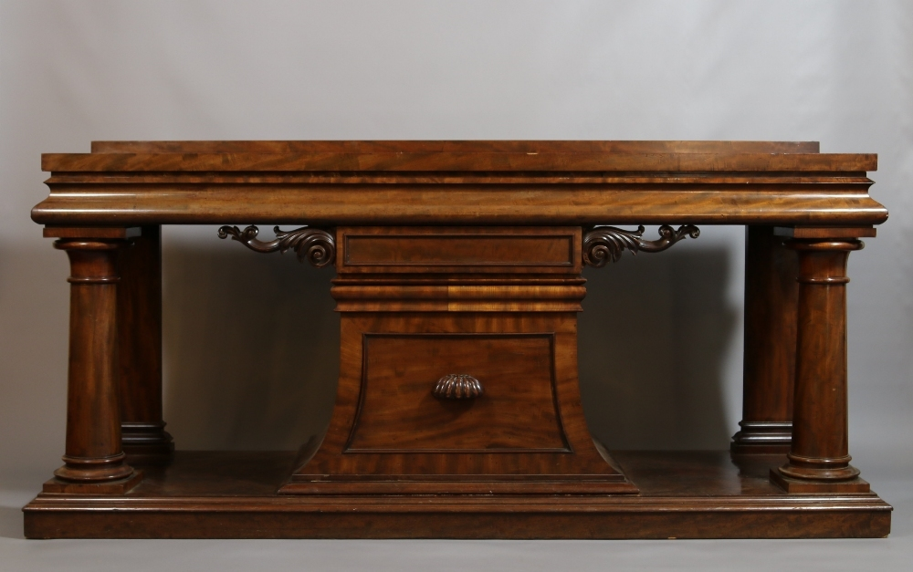A William IV Country House sideboard.