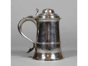 A George III silver tankard London 1769.