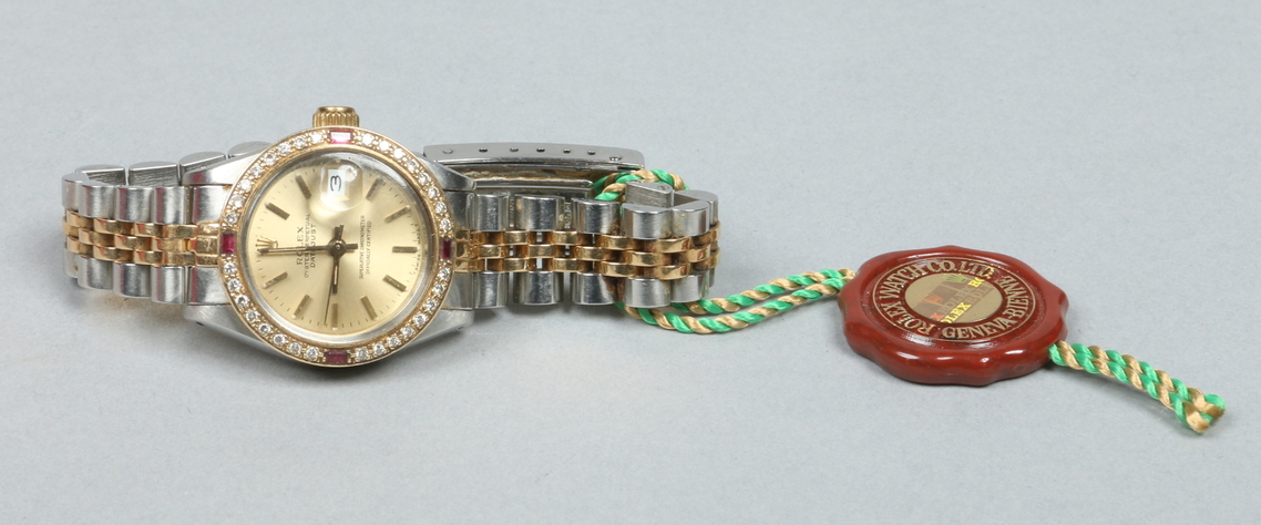 A ladies Rolex Oyster Perpetual Datejust