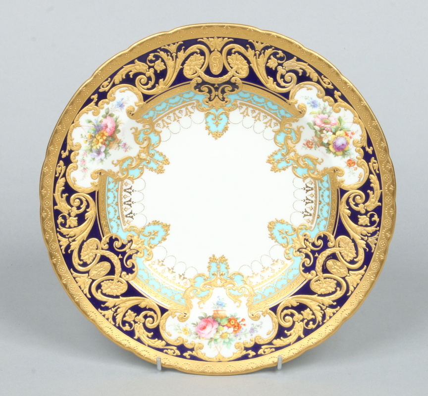 A fine Royal Crown Derby soup plate from