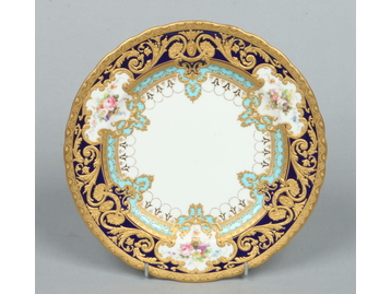 A fine Royal Crown Derby dessert plate f