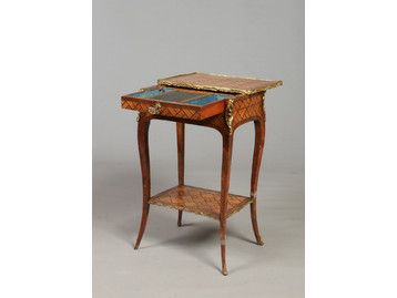 An 18th century French kingwood and tuli