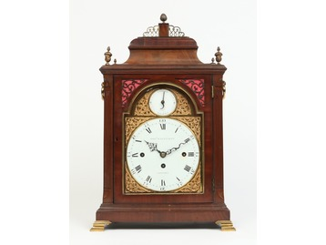 Georgian bracket clock Thomas Wagstaffe.