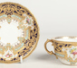 A fine and rare Royal Crown Derby twin h