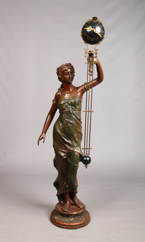 A late 19th century French large bronze