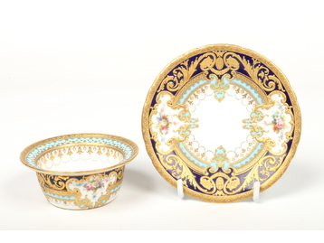 A fine Royal Crown Derby ramekin on stan