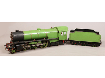"A scratch built 5"" gauge live steam 4-4-"