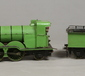"A scratch built 3.5"" gauge live steam 4-"